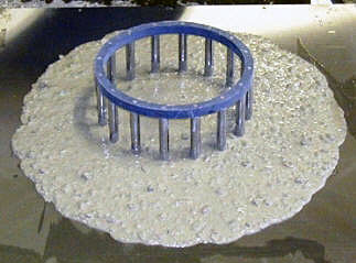Self consolidating concrete spread test vs slump